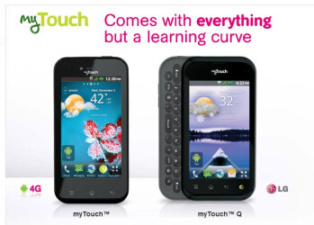T-Mobile myTouch & myTouch Q by LG are officially priced at $80 - arriving November 2nd