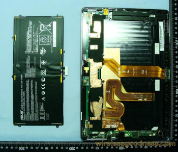 Asus Tranformer Prime tablet taken apart by the FCC, exposing the Tegra 3 quad-core chip