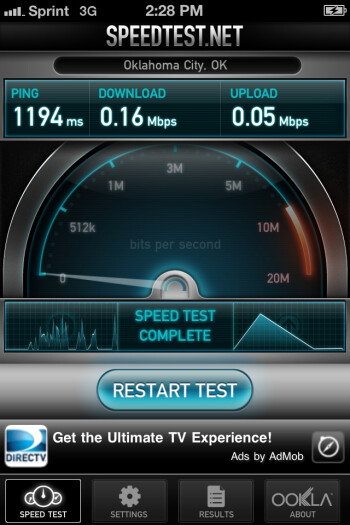Some Sprint iPhone 4S owners are still experiencing dramatically slow 3G speeds