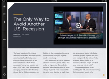 Yahoo introduces Livestand, a reading app for the iPad