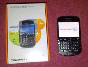 The BlackBerry Bold 9900 will launch on AT&T in 3 days