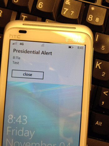 T-Mobile gives the Presidential Emergency Alert system a test ahead of schedule