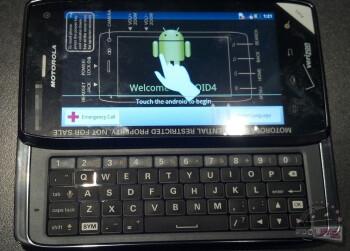 The Motorola DROID 4