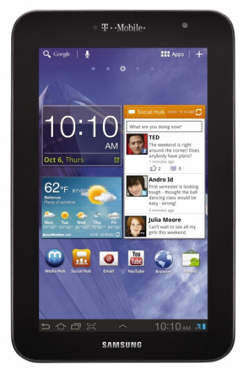 The Samsung GALAXY Tab 7.0 Plus is coming to T-Mobile