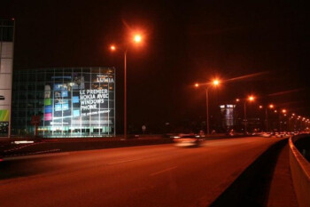Nokia Windows Phone gets giant banner in France