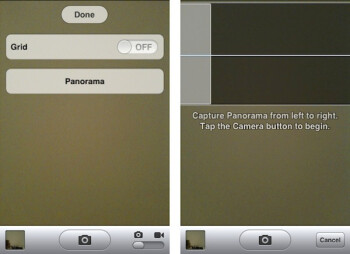 Panorama mode has been discovered in the iOS 5 code