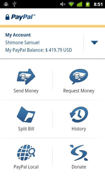 PayPal for Android updated to version 3.0