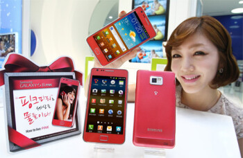 The Galaxy S II arrives pretty in pink for South Korea, Samsung's baseball team gets a Galaxy Tab 10.1 Lions edition