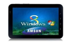 The Samsung Windows 8 tablet