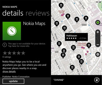 Nokia Maps for Windows Phone hacked to work on all WP devices