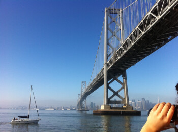 6. Eli Gonzalez - Apple iPhone 4San Francisco Bay Bridge