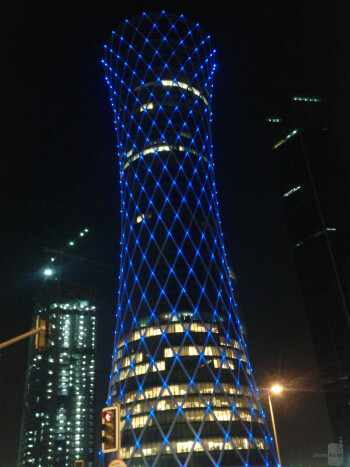 15. Shaheer Ali - Google Nexus STornado Tower at Night (Doha, Qatar)
