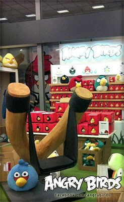 The world's first Angry Birds store