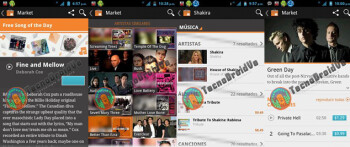 Screen shots of Google Music Store leak ahead of Wednesday unveiling?