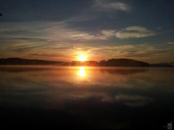 9. Mark Tennyson - Samsung Infuse 4GSunrise in Island Pond, Vermont