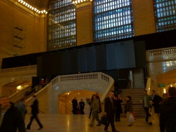 Pictures of Apple's soon to open store in Grand Central Station