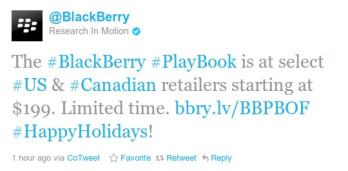 $199 BlackBerry Playbook officially arriving soon to Best Buy, other retailers join in too