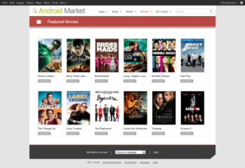 The top dozen movies on the Android Market are just 99 cents for the next two weeks