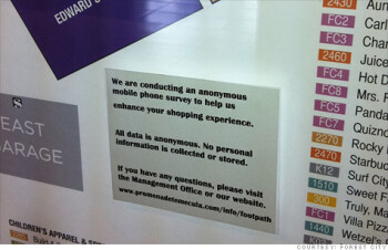On Black Friday your local mall may be tracking your cell phone whereabouts to gauge shopping behaviour