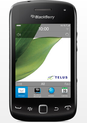 The touchscreen BlackBerry Curve 9380 - All touch BlackBerry Curve 9380 gets home field advantage, available now from TELUS