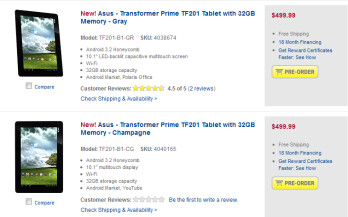 The Asus Transformer Prime can now be pre-ordered from Best Buy