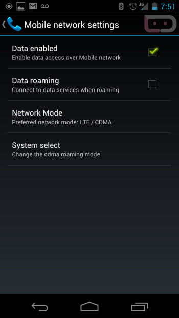 Battery life on the LTE enabled version of the Samsung GALAXY Nexus is fair