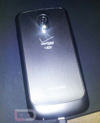 The Verizon version of the Samsung GALAXY Nexus