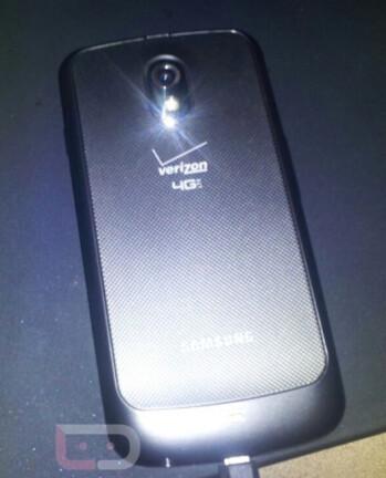 The Verizon version of the Samsung GALAXY Nexus