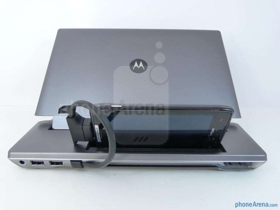 Motorola Lapdock 100 hands-on