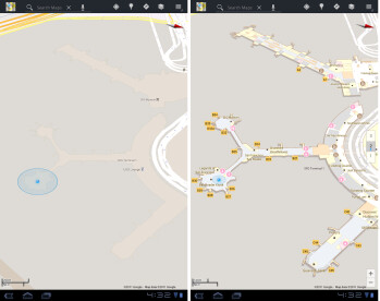Google Maps 6.0 for Android adds Indoor Maps