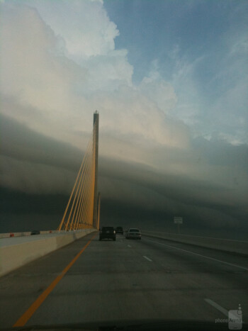 11. Scott El - Apple iPhone 3GSSunshine Skyway bridge in Tampa Bay
