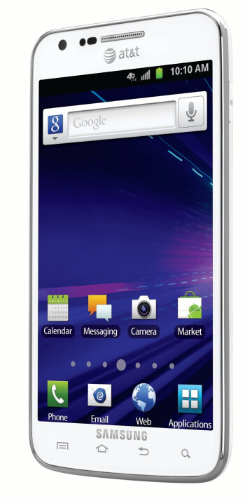 White Samsung Galaxy S II Skyrocket arriving on AT&T just in time for the holidays