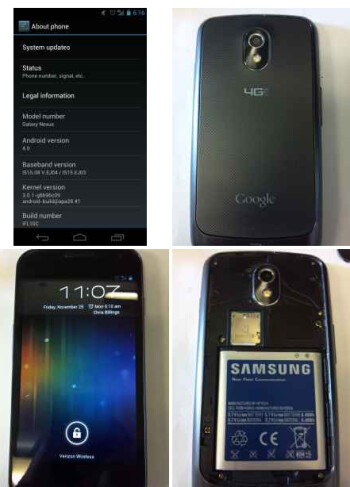 The Samsung GALAXY Nexus on sale at Craig's List
