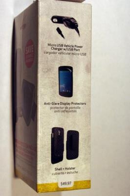 Some accessories for the Samsung GALAXY Nexus are being stocked on Verizon's shelves