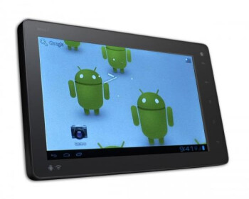 NOVO7 Android tablet with ICS