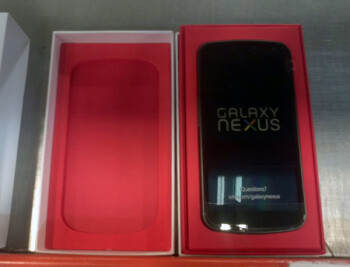 Verizon Galaxy Nexus en route to stores, final packaging leaked