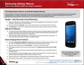 A Samsung GALAXY Nexus training guide