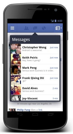 Facebook overhauls Android app, brings parity with iOS