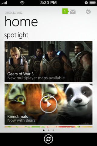 My Xbox LIVE for iOS.