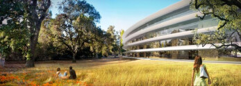 Apple's new headquarters will be flush with fruit trees blossoming around Steve Jobs's birthday