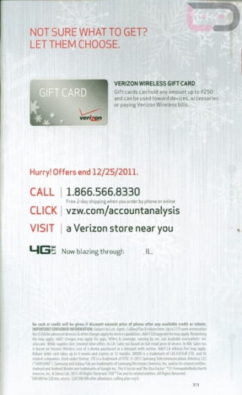 Verizon is offering a $100 discount on new 4G phone purchases to certain customers