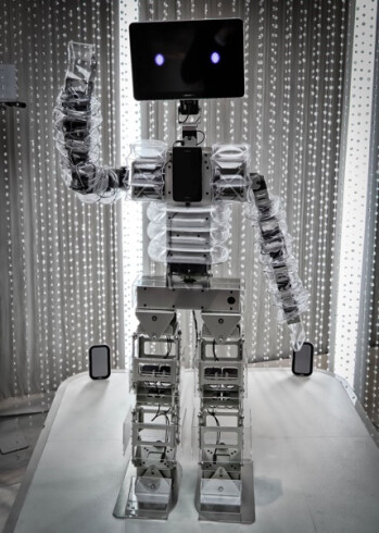 Samsung Galaxy gadgets power a robot that gives... hugs