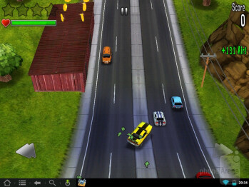 Playing 3D games for Android on the TouchPad