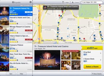 Expedia for iPad