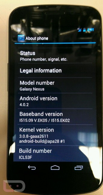 Verizon Galaxy Nexus updated to 4.0.2 – more bugs squashed ahead of release?