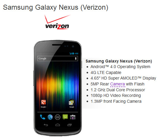 New Verizon customers can grab the Samsung GALAXY Nexus for $154.99 from Let's Talk with this $75 coupon at right - Verizon's Samsung GALAXY Nexus as low as $154.99 from Let's Talk