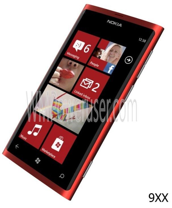 Nokia Lumia 900 Red Im...