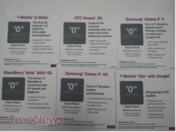 T-Mobile stores offer the 4G Super Sale (L) while indirect partners have the Last Chance Two Day Sale