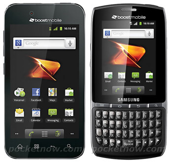LG Optimus Black and Samsung Replenish heading to Boost Mobile