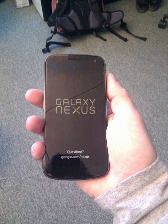 A special edition Galaxy Nexus for Google's employees - Who wants a free Galaxy Nexus? All of us. Who's getting it? Google employees.